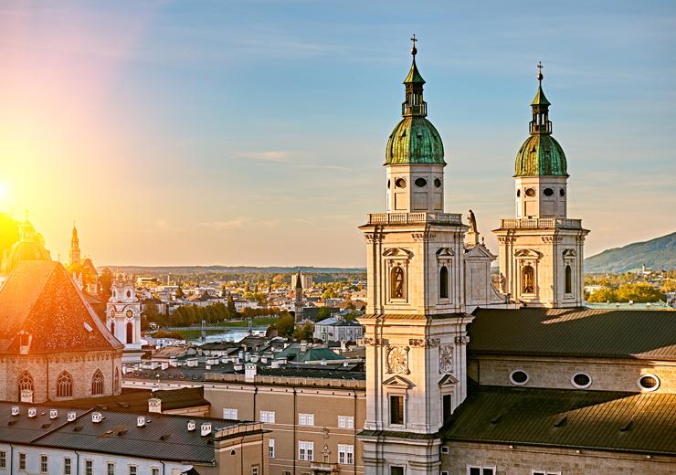 Budapest – Salzburg, Áo