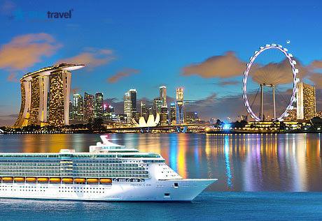 Trải nghiệm Du thuyền 5 sao với hải trình Singapore - Malaysia
