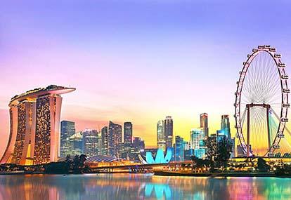 Tour du thuyen 5 sao đi Singapore - Malaysia