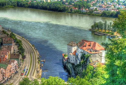 Praha, CH Séc – Passau, Đức – Du thuyền
