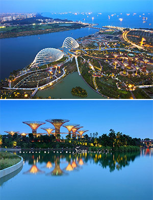 Ngày 01: TP.HCM - SINGAPORE  (Ăn tối)