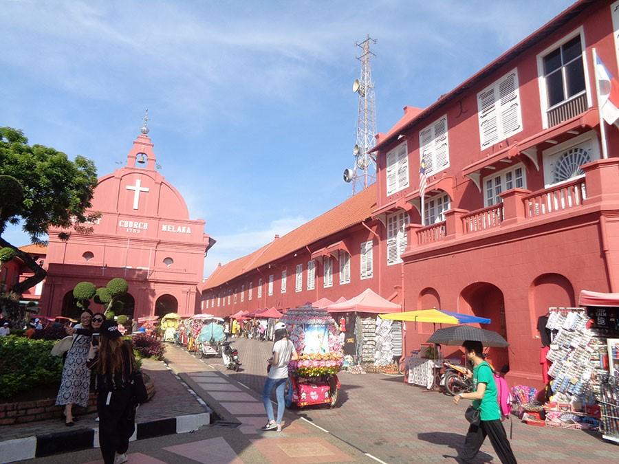 Malacca, Malaysia (Ăn sáng, trưa, tối)