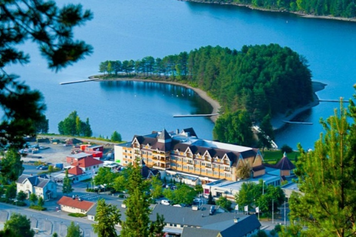 Fagernes - Lillehammer - Karlstad, Thụy Điển
