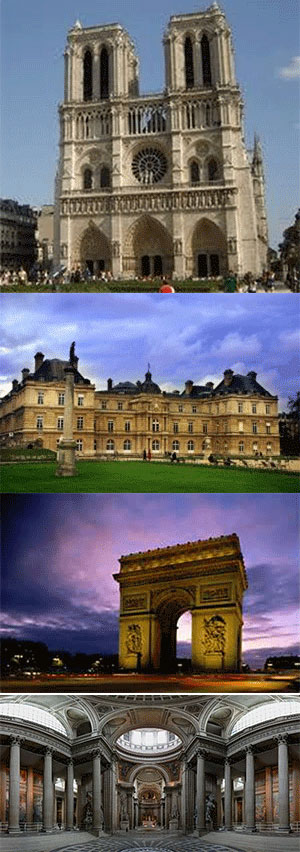 KINH ĐÔ ÁNH SÁNG PARIS (Ăn: Trưa, Tối)