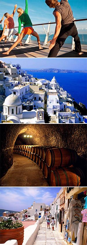 SANTORINI, GREECE (Ăn