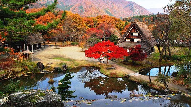 ASUKE – OBARA – MATSUMOTO (Ăn sáng trên máy bay, trưa, tối)