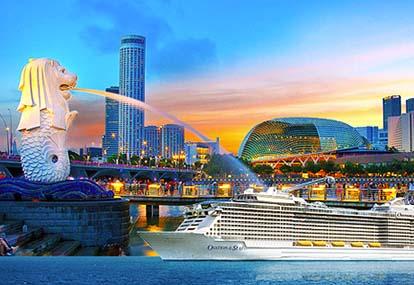 Tour du thuyền 5 sao đi Singapore - Malaysia