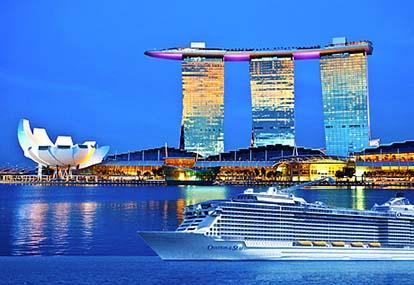 Tour du thuyền 5 sao Ovation of the Seas khởi hành đi Singapore - Malaysia