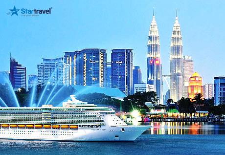 Cùng Du thuyền Voyager of the Seas khám phá hải trình Singapore - Malaysia