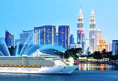 Tour du thuyền 5 sao Singapore - Malaysia