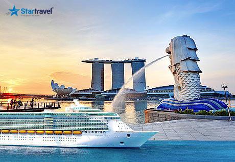 Ngắm thu vàng trên biển: du thuyền khám phá Singapore - Kualapumpur