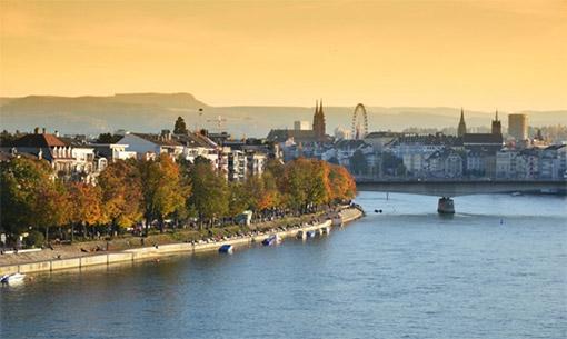 Zurich, Thụy Sỹ - Basel (Ăn: Tối)
