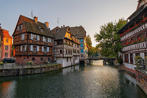 Strasbourg, Pháp (Ăn: Sáng, Trưa, Tối)