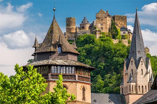 Rudesheim - Rhine - Gorge - Koblenz (Ăn: Sáng, Trưa, Tối)