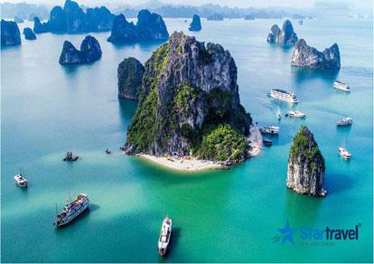 Tour du lịch Miền Bắc - Vân Đồn - Quảng Ninh - Hạ Long mùa Thu 4 ngày từ Sài Gòn