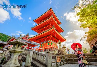 Khám phá Nhật Bản - Tắm Onsen - Hái trái cây theo mùa