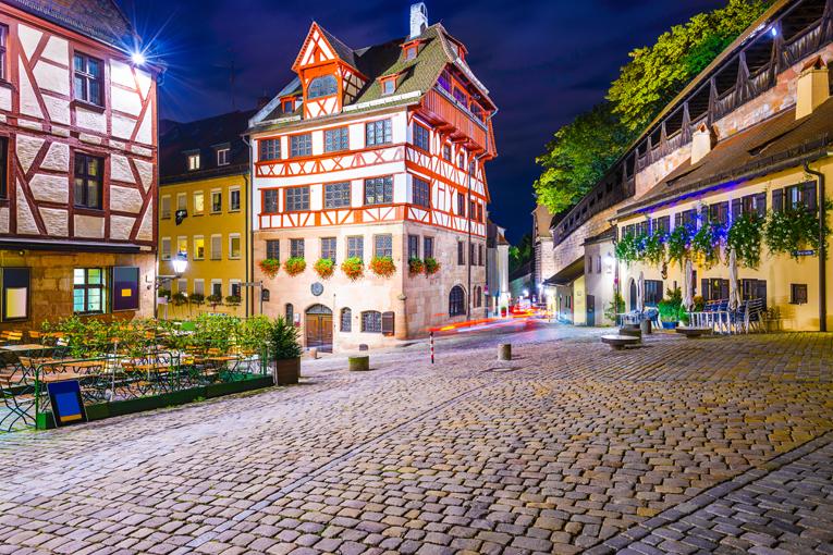 Praha - Nuremberg, Đức (Lên tàu)