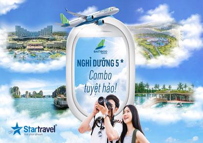 Happy Sunshine - Combo nghĩ dưỡng 3N2Đ, vé máy bay Bamboo Airways khứ hồi giá siêu hời
