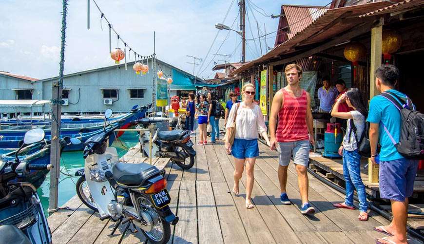 Du thuyền - Penang