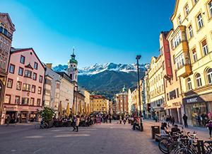 Ngày 05: Frankfurt - Con đường lãng mạn - Innsbruck