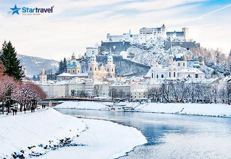 Khám phá du lịch Châu Âu - Trải nghiệm tuyết rơi Châu Âu