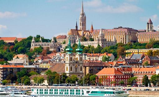 Vienna - Budapest, Hungary
