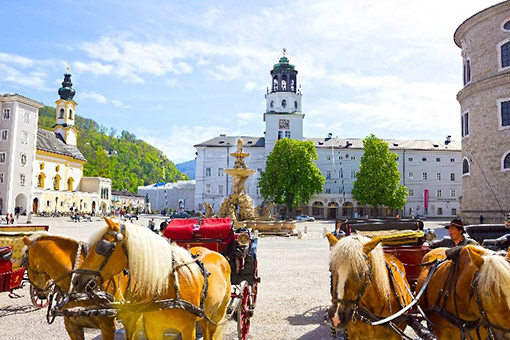 Budapest - Salzburg, Áo