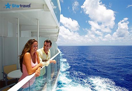 Đến nơi nắng vàng hòa cùng biển cả cùng tour du thuyền Voyager of the Seas