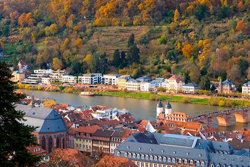Heidelberg, Pháp - Mainz, Đức (Ăn: Sáng, Trưa, Tối)