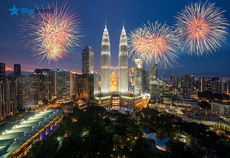 Du xuân cùng du thuyền 5 sao Singapore - Malaysia - Thailand