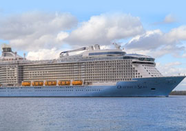 Tour du thuyền 5 sao Ovation of the Seas Sài Gòn - Singapore - Penang - Phuket 6 ngày
