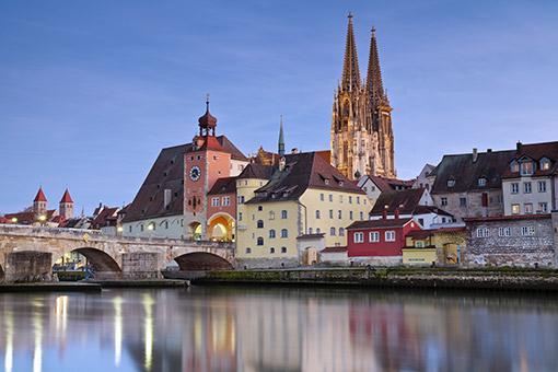 Prague - Regensburg - Deggendorf, Đức