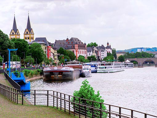 Rudesheim - Rhine Gorge - Koblenz