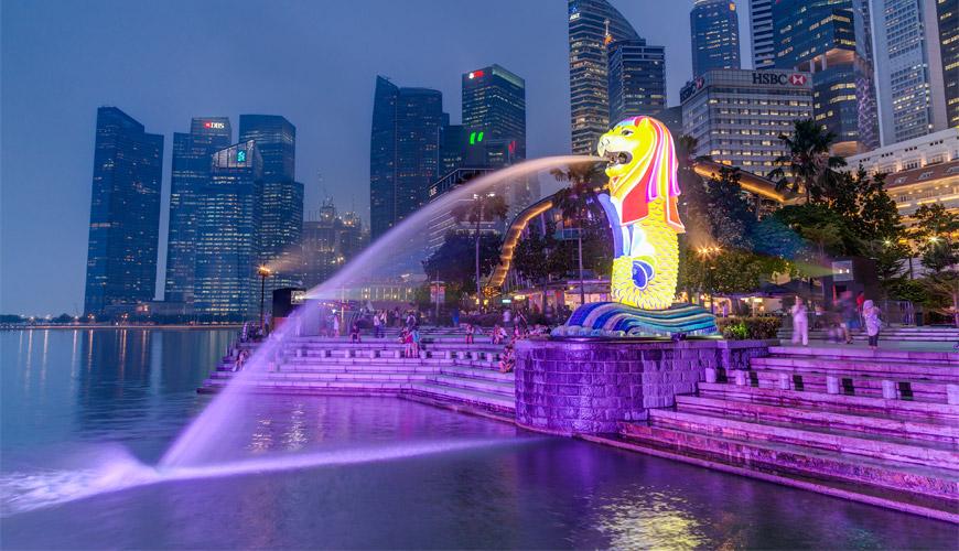 Ngày 01: Tp. Hồ Chí Minh - Singapore