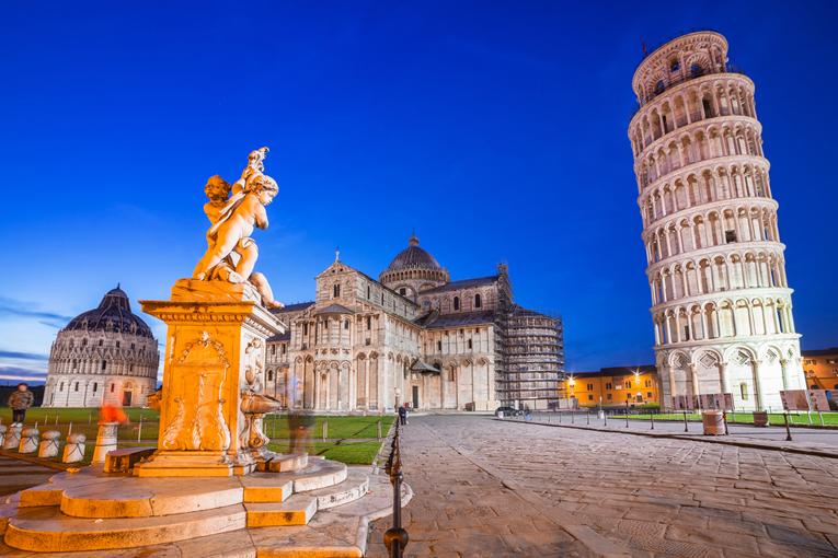 Montecatini - Pisa - Eze, Pháp - French Riviera