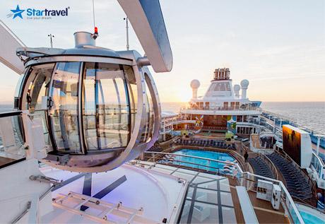 Trải nghiệm siêu phẩm du thuyền 5 sao Ovation of the Seas đến Singapore - Malaysia - Thái Lan