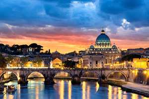 Ngày 10: Montecatini - Pisa - Rome