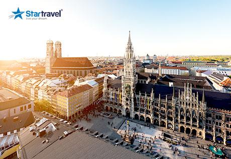 Khám phá Munich - Nuremberg - Praha - Vienna - Budapest mùa hè nắng vàng