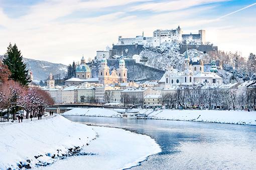 Đông Âu Mùa Tuyết - Đức - CH Séc - Áo -  Hungary