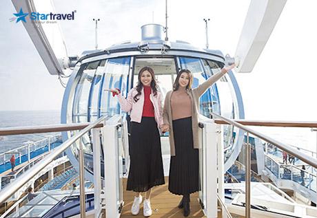 Tour du thuyền 5 sao Ovation of the Seas khám phá Trung Quốc - Nhật Bản