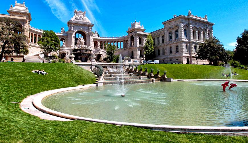 Kết quả hình ảnh cho Lâu đài nước Palais Longchamps