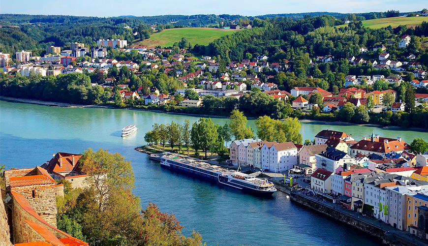 Passau - Engelhartszell, Áo