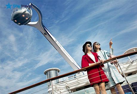 Tour du thuyền 5 sao khám phá hải trình Trung Quốc - Nhật Bản