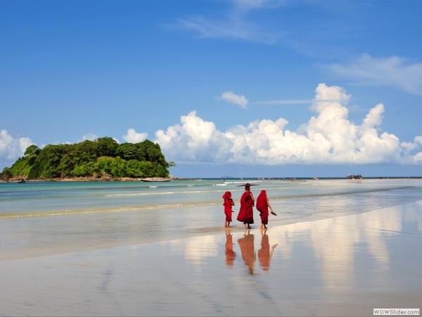 Kết quả hình ảnh cho Bãi biển Ngapali