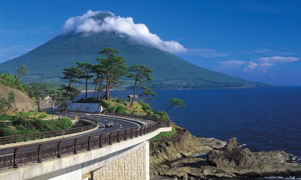 Kagoshima Kaimondake Volcano