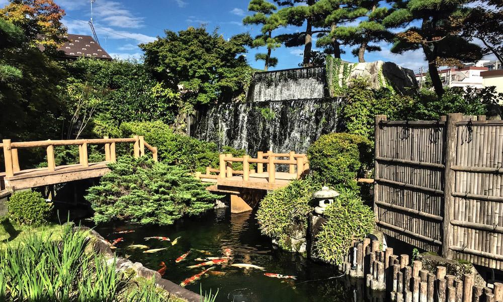 Niigata Ojiya City Nishikigoi no Sato