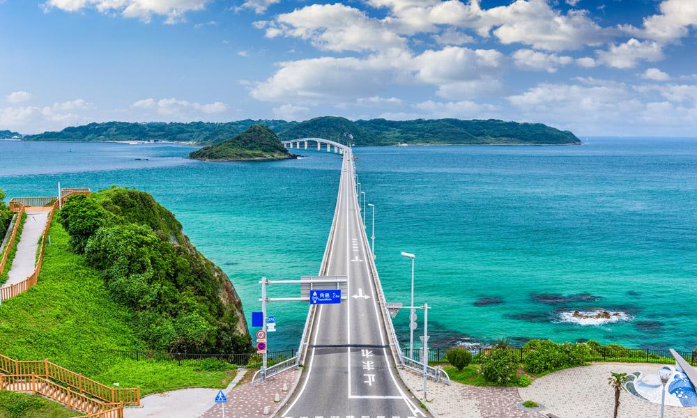 Shimonoseki Tsunoshima Ohashi Bridge