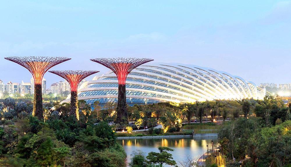 du thuyền 5 sao quan cảnh singapore