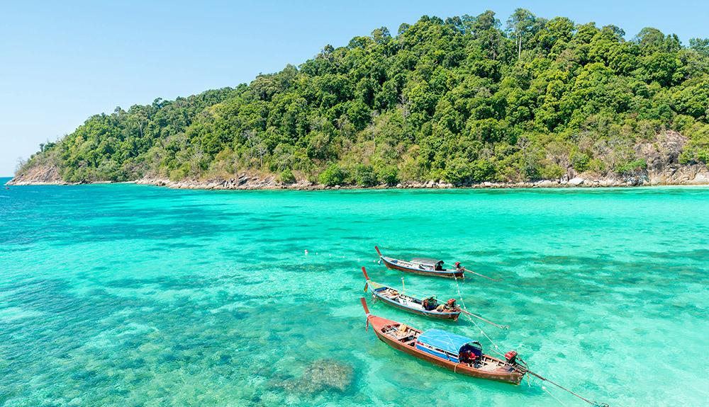 du thuyền biển biển xanh phuket