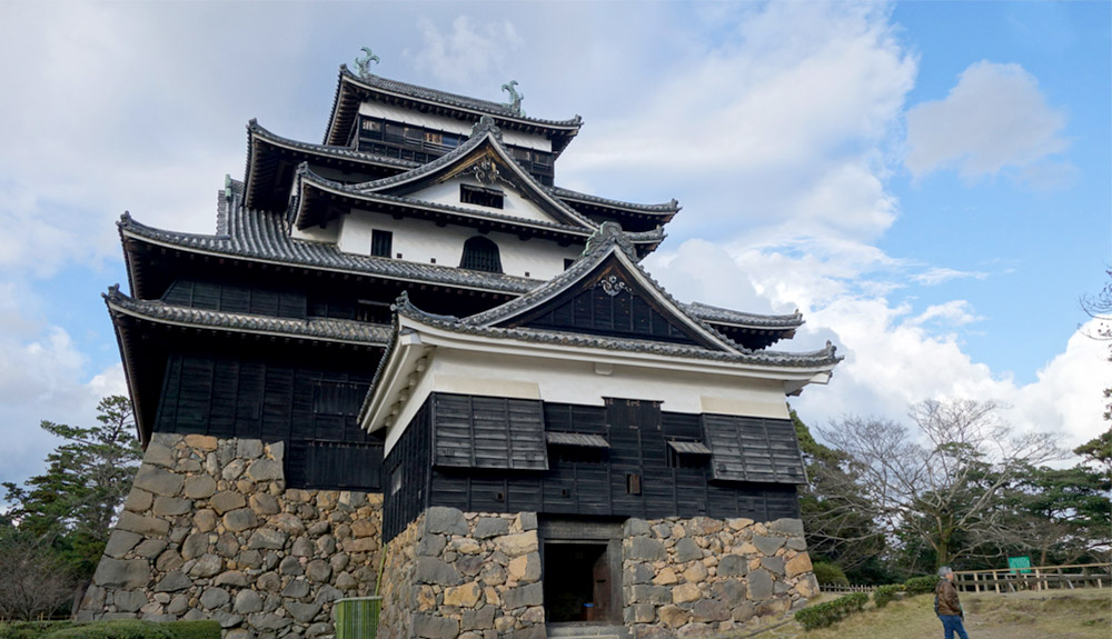 du thuyền biển lâu đài matsue sakaiminato
